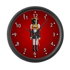Nutcrackers Large Wall Clock