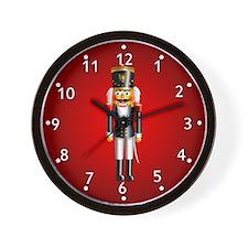 Nutcrackers Wall Clock