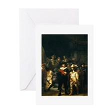 Rembrandt Night Watch Greeting Card