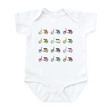 Vespa Piaggio Party Infant Bodysuit
