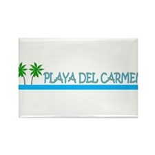 Cool Playa del carmen Rectangle Magnet (100 pack)