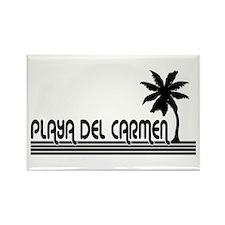 Unique Playa del carmen Rectangle Magnet (100 pack)