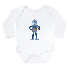 Ukulele Robot Baby Suit
