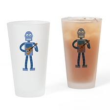 Ukulele Robot Drinking Glass