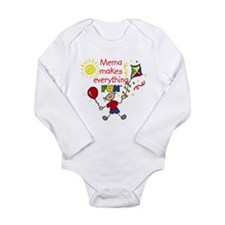 MeMa Fun Boy Body Suit