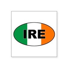 Flag of Ireland (IRE) Oval Sticker