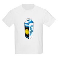 Pluto Milk Carton Kids T-Shirt