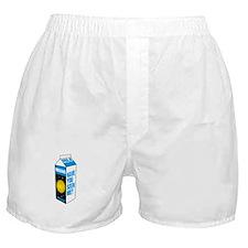 Pluto Milk Carton Boxer Shorts