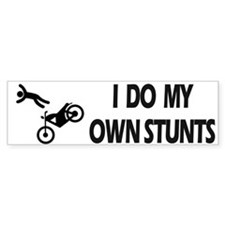 Motorcycle, Funny Motorcycle Stunts Car Sticker