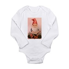 Literary Gnome Long Sleeve Infant Bodysuit