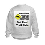Cute Horseback trail riding Sweatshirt