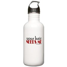 Cute Hair Water Bottle