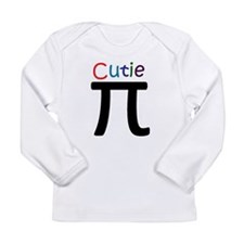 2-CutiePi.png Long Sleeve Infant T-Shirt