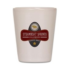 Steamboat Springs Natural Marquis Shot Glass