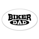 Biker Dad Decal