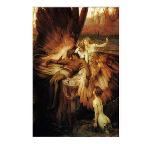 Mourning of Icarus Postcards (Pkg 8)