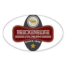 Breckenridge Natural Marquis Decal