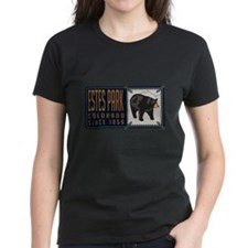 Estes Park Black Bear Badge Tee