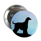 "Afghan Hound Blue Sunset 2.25"" Button (10 pack)"