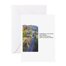 Farewell Greeting Card - Blank Inside