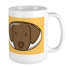 Cute Chesapeake bay retriever cartoon Mug