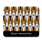 Ibizan Hound Fan Mousepad