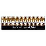 Ibizan Hound Fan Bumper Bumper Sticker