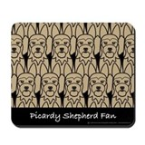 Picardy Shepherd Fan Mousepad