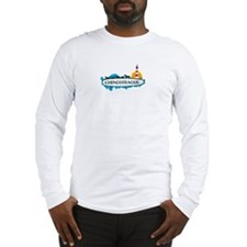 Chincoteague Island MD - Surf Design. Long Sleeve