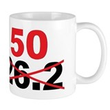 Beyond the Marathon - 50 Mile Ultramarathon Small Mugs