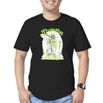 fee-verte-glass_tr.png Men's Fitted T-Shirt (dark)
