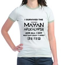 I Survived Mayan Apocalypse T