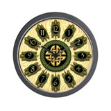 Celtic Turtles Wall Clock