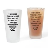 Police officer Pint Glasses