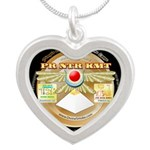 Pr Ntr Kmt Silver Heart Necklace