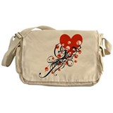 valentine-skull-swirl_bl.png Messenger Bag