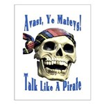 Talk Like A Pirate Day Small Poster