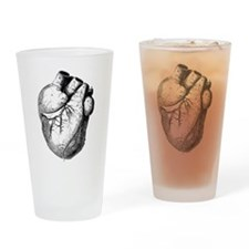 Anatomical Heart Drinking Glass