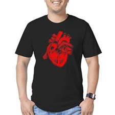 Human Heart Red T