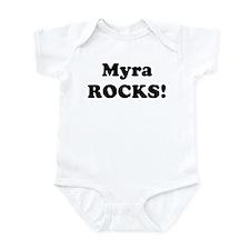Myra Rocks! Onesie