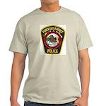 Punxsutawney Police Ash Grey T-Shirt