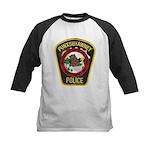 Punxsutawney Police Kids Baseball Jersey