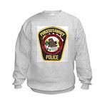 Punxsutawney Police Kids Sweatshirt