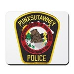 Punxsutawney Police Mousepad