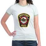 Punxsutawney Police Jr. Ringer T-Shirt