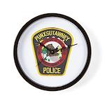 Punxsutawney Police Wall Clock