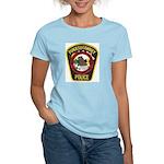 Punxsutawney Police Women's Pink T-Shirt
