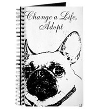 """Change a Life, Adopt"" Dunkie Journal"