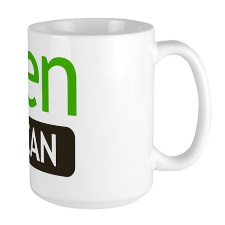Green But Mean Large Mug