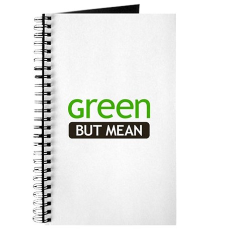 Green But Mean Journal